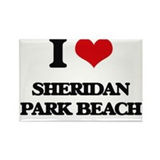 I Love Sheridan Park Beach Magnets