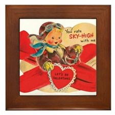 You rate sky-high with me! Framed Tile