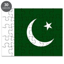 Pakistani flag Puzzle