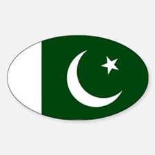 Pakistani flag Decal