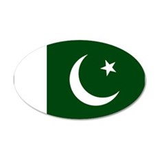 Pakistani flag Wall Sticker