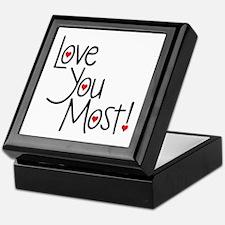 Love You Most! Keepsake Box