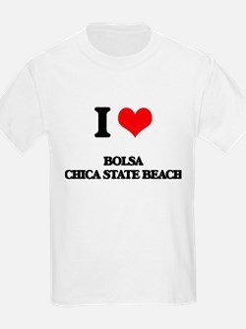I Love Bolsa Chica State Beach T-Shirt