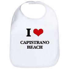 I Love Capistrano Beach Bib
