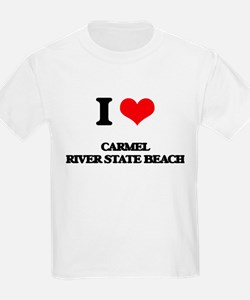 I Love Carmel River State Beach T-Shirt
