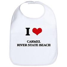 I Love Carmel River State Beach Bib