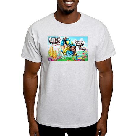 Wolverine In Candyland 001 T-Shirt