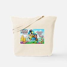 Wolverine In Candyland 001 Tote Bag