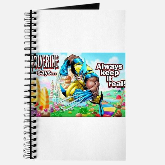 Wolverine In Candyland 001 Journal