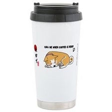 Unique Akita rescue Travel Mug