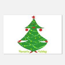 Namaste Holiday Postcards (Package of 8)