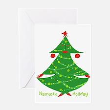 Namaste Holiday Greeting Cards