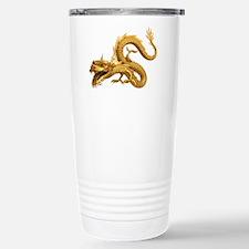 Golden Dragon Stainless Steel Travel Mug