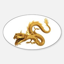 Golden Dragon Decal
