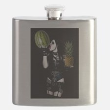 Healthy Goth Girl 001 Flask