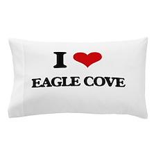 I Love Eagle Cove Pillow Case