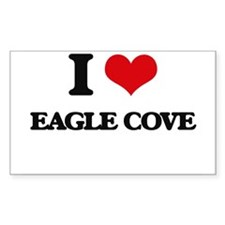 I Love Eagle Cove Decal