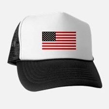 4th of July Old Glory Story American F Trucker Hat