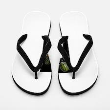 Healthy Goth Girl 001 Flip Flops