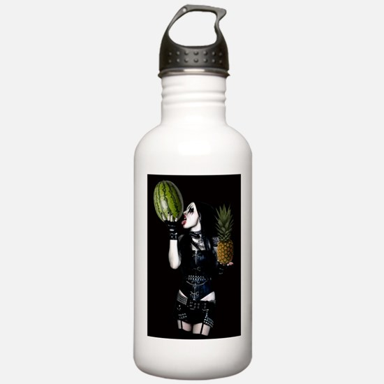 Healthy Goth Girl 001 Water Bottle