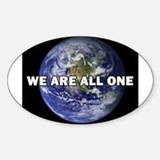 We Are All One 002 Decal