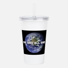 We Are All One 002 Acrylic Double-wall Tumbler