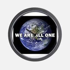 We Are All One 002 Wall Clock