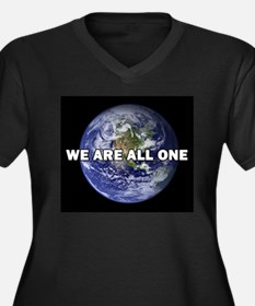We Are All One 002 Plus Size T-Shirt