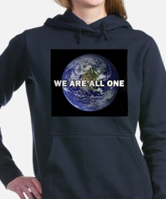 We Are All One 002 Women's Hooded Sweatshirt