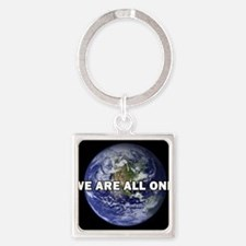 We Are All One 002 Keychains