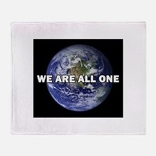 We Are All One 002 Throw Blanket