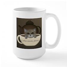 Coffee meow... Mug