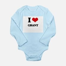I Love Grant Body Suit