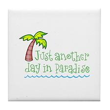Palm Tree Tile Coaster