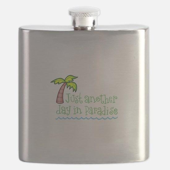 Palm Tree Flask
