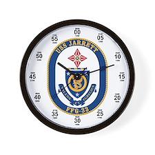 USS Jarrett FFG-33 Wall Clock