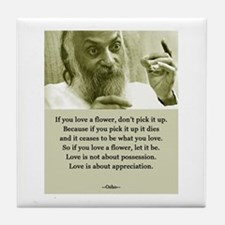 Osho 001 Tile Coaster