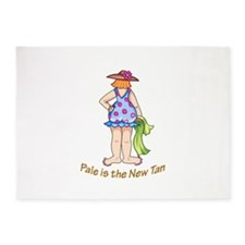 POLKA DOT LADY 5'x7'Area Rug