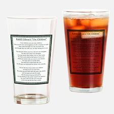 Kahlil Gibran 002 Drinking Glass