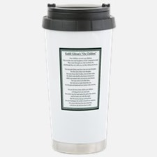 Kahlil Gibran 002 Stainless Steel Travel Mug