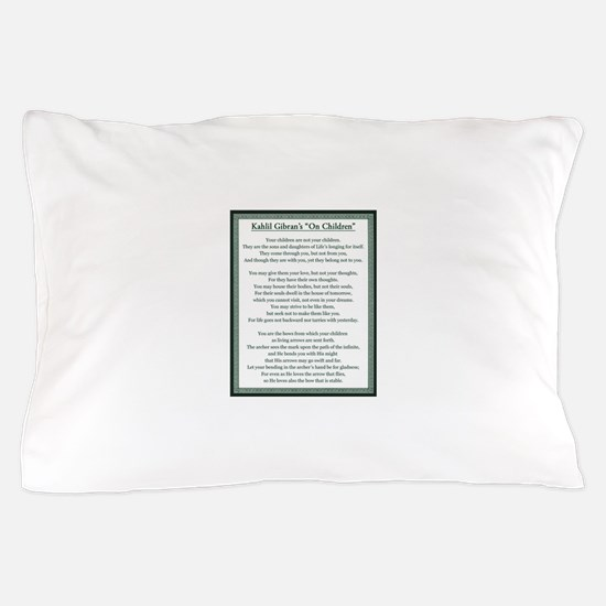Kahlil Gibran 002 Pillow Case