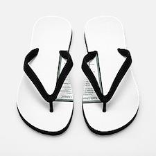 Kahlil Gibran 002 Flip Flops
