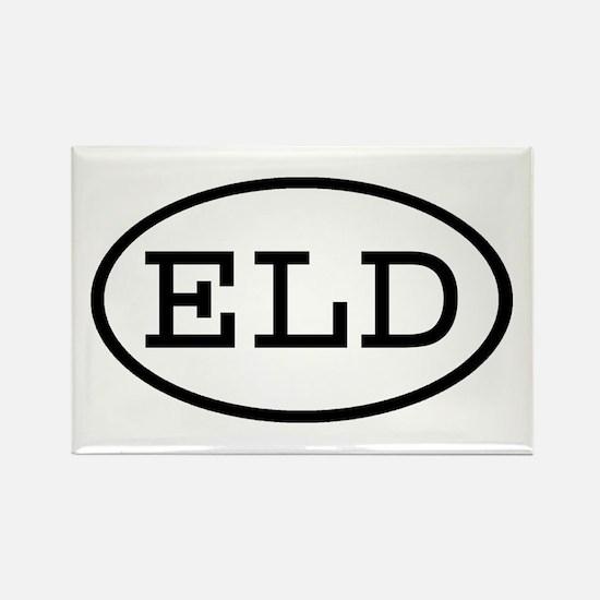 ELD Oval Rectangle Magnet