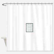 Kahlil Gibran 002 Shower Curtain