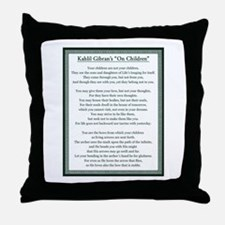 Kahlil Gibran 002 Throw Pillow