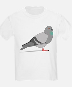 Cartoon Pigeon T-Shirt
