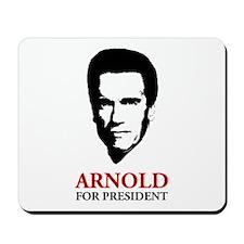 Arnold For President Mousepad