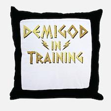 DEMIGOD in TRAINING Throw Pillow