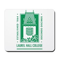 Laurel Hall College Logo Mousepad