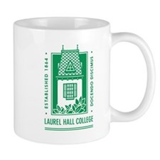 Laurel Hall College Logo Mugs